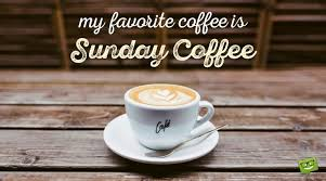 sunday quote about coffee on picture perfect cappuccino
