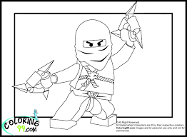 LEGO Ninjago Zane Coloring Pages - Get Coloring Pages