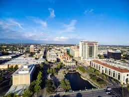 downtown stockton skyline picture of