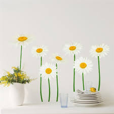 Hot Sale Removable 3d Simulation Small White Daisy Pictures Wall Stickers Art Wall Stickers For Living Room 70 50cm Art Wall Decal Art Wall Decals From Chairdesk 7 27 Dhgate Com