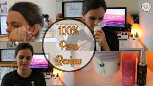 100 pure free natural makeup