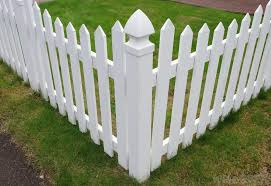 What Are The Different Types Of Vinyl Fences With Pictures