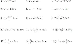 help for solve literal equations