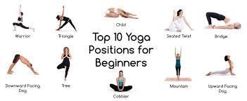 top ten yoga positions for beginners