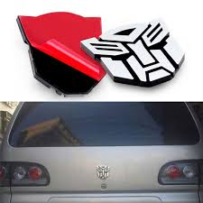 Protector Autobot Transformers Emblem Badge Graphics Decal Shopee Philippines