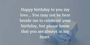 sweet birthday quotes for dead husband enkiquotes happy