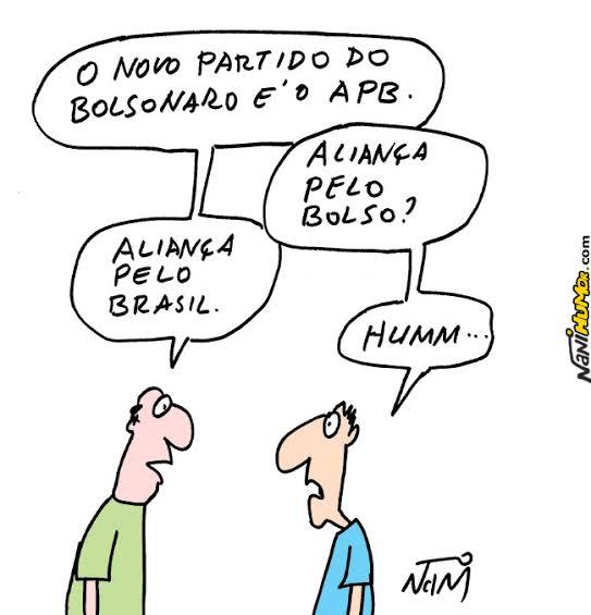 """Resultado de imagem para bolsonaro sem partido charges"""""""