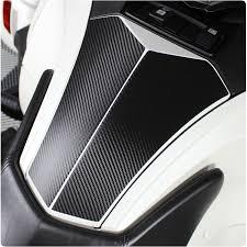 Can Am Spyder Rt Glove Box Carbon Fiber Vinyl Decal Kit