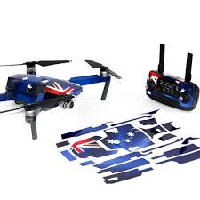 Wrap Skin Decal Stickers Aussie Flag Dji Mavic Pro Drone Accessories Australia
