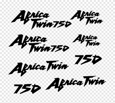 Honda Africa Twin Car Sticker Decal Honda Angle Text Png Pngegg