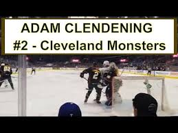 ADAM CLENDENING Cleveland Monsters 2019-20 game action saves ...