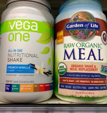 raw meal vs vega one how do they