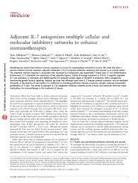 pdf adjuvant il antagonizes multiple cellular and molecular
