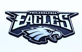 Philadelphia Eagles Car 3d Chrome Auto Emblem