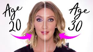 how i do my makeup in my 30 s vs my 20