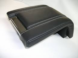 padded leather console armrest covers