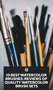 10 best watercolor brushes reviews of
