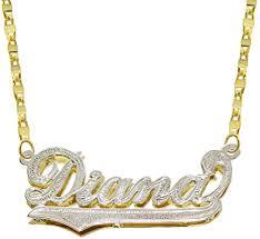 pyramid jewelry 14k two tone gold