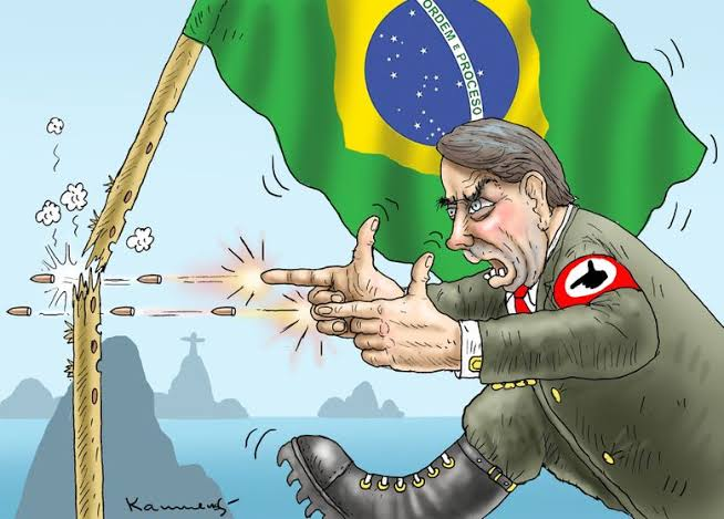 """Resultado de imagem para o monstro do fascismo"""""""