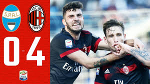 Highlights | Spal 0-4 AC Milan
