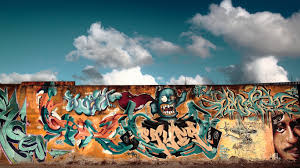 graffiti wall city colorful cool images