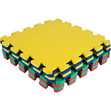 Stalwart Multi Color Eva Foam Exercise Mat 8 Piece Walmart Com Walmart Com