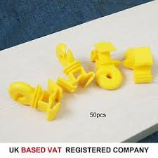 667113 50 Packs Electric Fence Spare Insulators Accessories Poly Tape Wire 5056156000154 Ebay