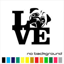 Live Love Bark Wall Decal Doggie Pet Vinyl Sticker Dog Bedroom Pets Puppy Animal For Sale Online