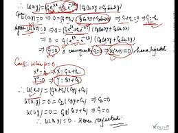 two dimensional laplace equation