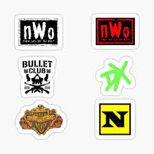 Bullet Club Stickers Redbubble