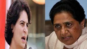 Mayawati targets Priyanka Gandhi for the death of 100 children in ...
