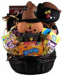 frightfully fun gift basket