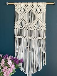 macrame wallhanging for beginners my