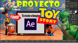 Proyecto After Effects Toy Story Editable Free Youtube