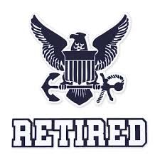 U S Navy Veteran Gear Navy Retired Decal Armed Forces Gear