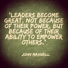 you have the ability to empower others mentor business