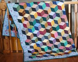 Quilts We Ve Made Tumbling Blocks