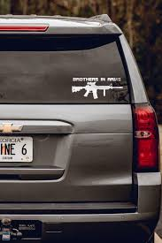 Truck Decals Brothers In Arms Rifle Nine Line Apparel