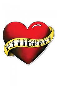 Love My Library Tattoo Window Decal Ala Store