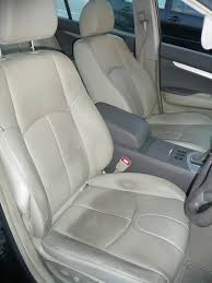 light colored seats in car crazy