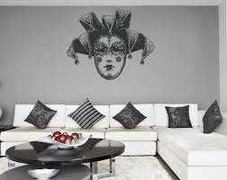 Ik1188 Wall Decal Sticker Venetian Mask Venice Carnival Bedroom Stickersforlife