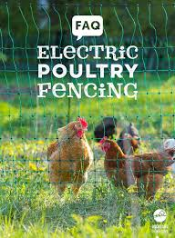 Portable Electric Poultry Fencing Provides Flexible And Easy To Set Up Chicken Coop Predator Prevention And Chicken Fence Cute Chicken Coops Chickens Backyard