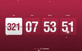 stunning new year countdown clock