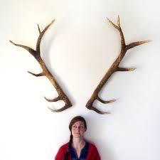 how to make deer antlers my diy deer