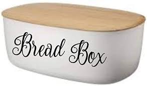 Amazon Com Cliffbennett Bread Box Food Decal Die Cut Vinyl Car Decal Sticker For Car Window Bumper Sticker Truck Laptop Tumbler Walls Men Women Kids Home Kitchen