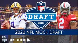 2020 NFL Mock Draft: 1st & 2nd Round ...
