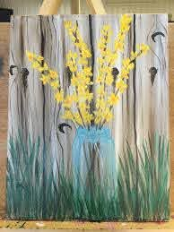 Painting With Jane On Youtube I Highly Recommend Watching Her Canvas Painting Diy Spring Painting Painting