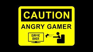 gaming warning signs caution warning sign joystick