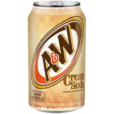 a w cream soda 355ml us