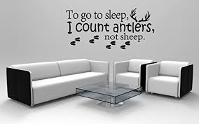 To Go To Sleep I Count Antlers Not Sheep Buy Online In Albania At Desertcart